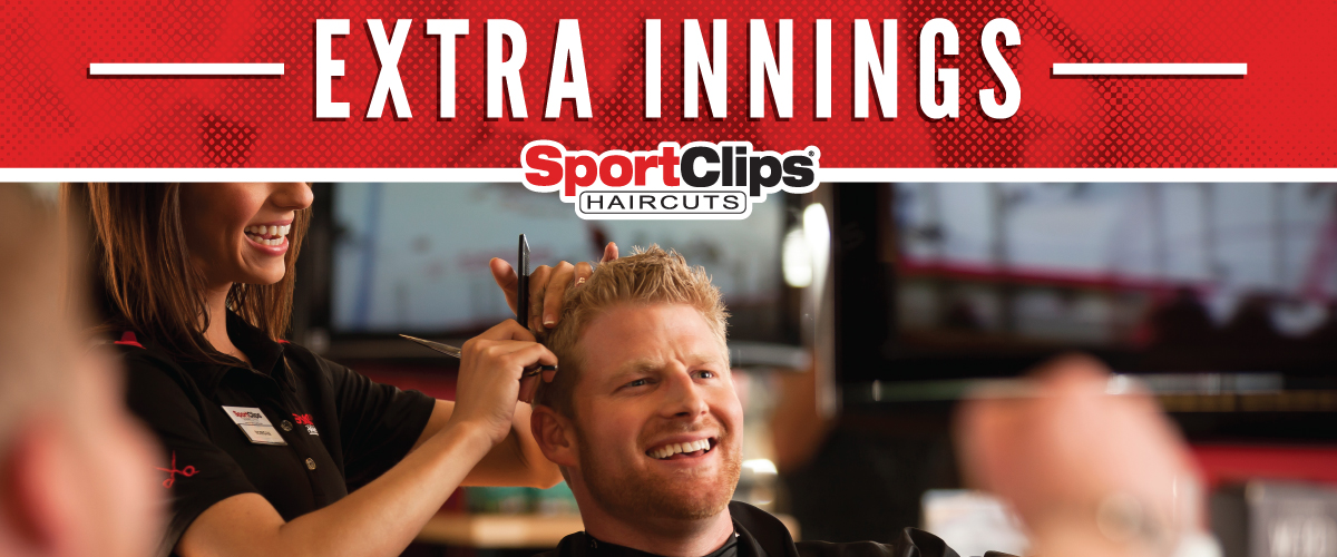 The Sport Clips Haircuts of Suffolk  Extra Innings Offerings